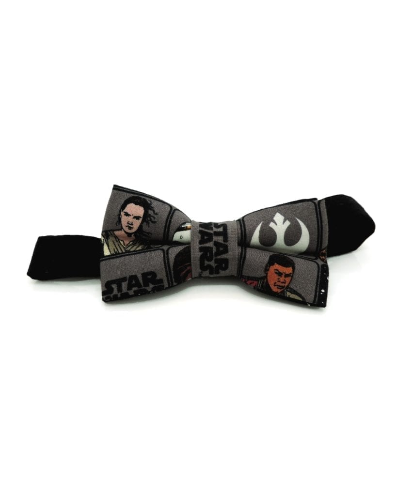 Pajaritas Star Wars frente - Star Wars bow tie May the force be with you | Valexcio Store
